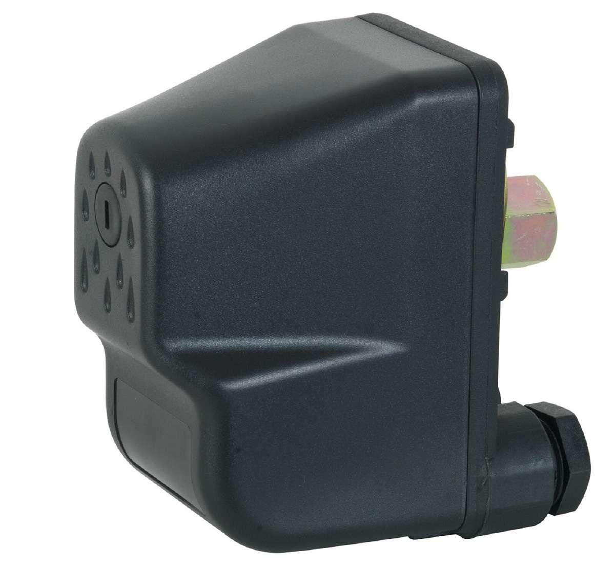 pressostat monophas 110v 220v 10 a 6 bars pompe eau contacteur surpresseur ebay. Black Bedroom Furniture Sets. Home Design Ideas